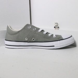 Converse Light Gray All Star Low Tops